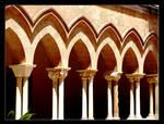 Colonnade Duomo - Cefalu - 2 by skarzynscy
