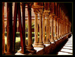 Colonnade In Garden Of The Monastery, Palermo 1
