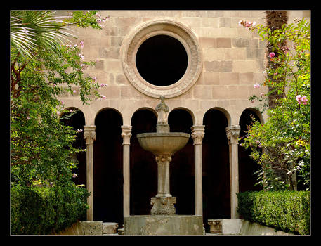 In The Garden Of Old Monasterym - Dubrownik 2