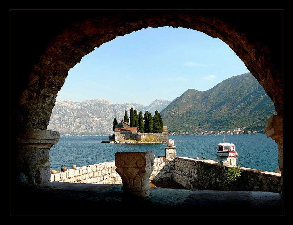 From Island To Island. Kotor Bay. Montenegro by skarzynscy