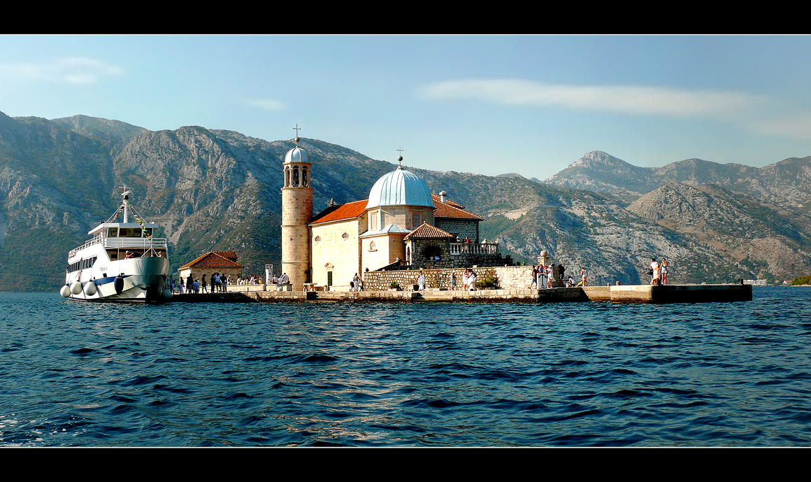 On The Water Of The Kotor Bay by skarzynscy