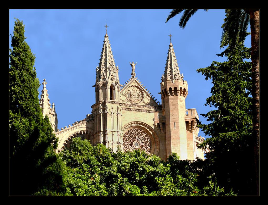 Cathedral In Palma - Mallorca by skarzynscy