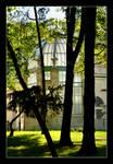 Orangery Geotz's Palace in Brzesko, Poland