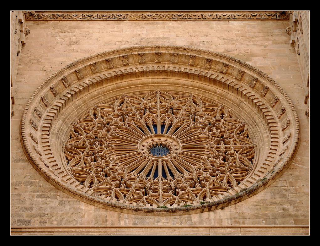 Rosetta... Cathedral La Seou In Palma by skarzynscy