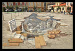 Magica In Sun, 3D Paiting On The Market Square
