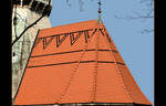 Roof Of St. Joseph Church - Cracow