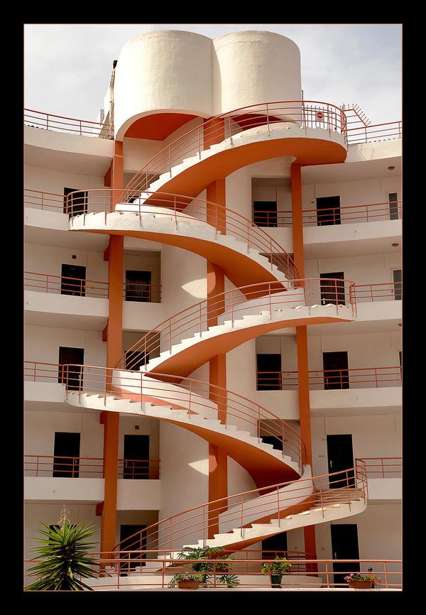 Tangled Stairs by skarzynscy