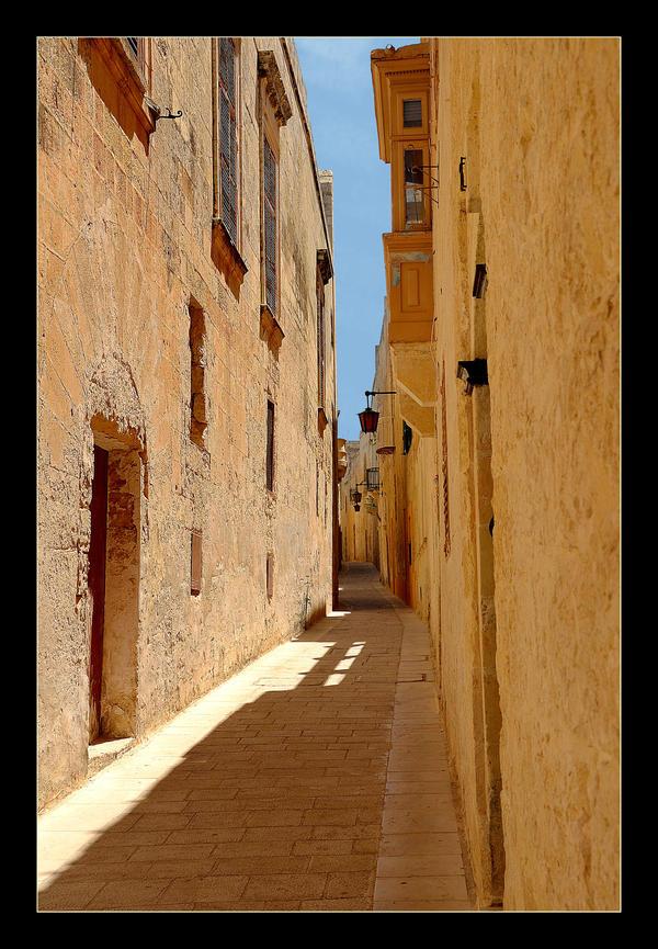 Streets In Mdina City - 3 by skarzynscy