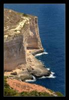 Cliffs Of Malta (Dingli Cliffs) by skarzynscy