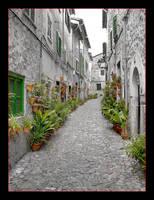 Remastering - Street In Valldemossa