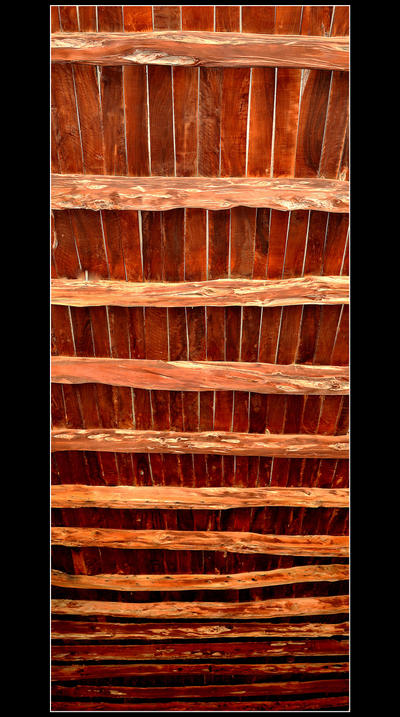 A Typical Ceiling For Old Buildings On Ibiza by skarzynscy