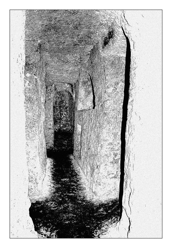 Catacombs In Rabat - 1 by skarzynscy