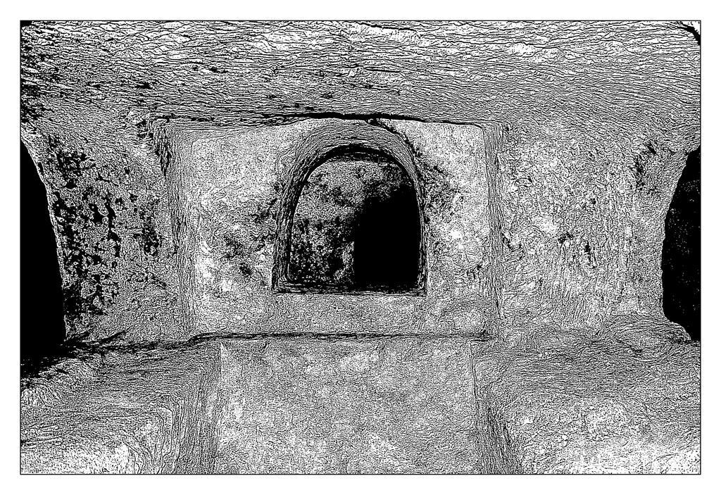 Catacombs In Rabat - 2 by skarzynscy
