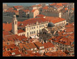 Roofs Over The Heart Of Dubrovnik