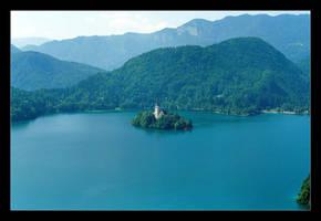 Bled, Slovenia - 21 Years Ago (Analog Photo) - 2 by skarzynscy