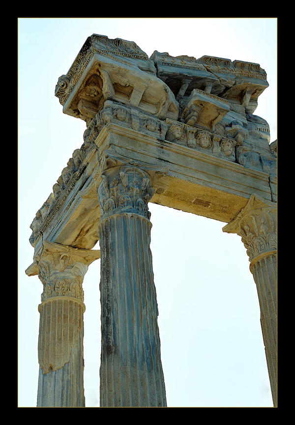 Part Of Apollo Temple by skarzynscy