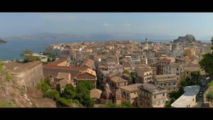 Another Panorama Of Corfu by skarzynscy