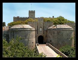 Gates To Old Part Of Rodos by skarzynscy