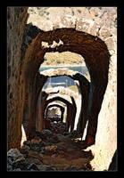 Overturning Tunnel - Turkey (Analog photo) by skarzynscy
