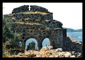 Ruins Of The Santa Claus Church (Analog Photo) by skarzynscy