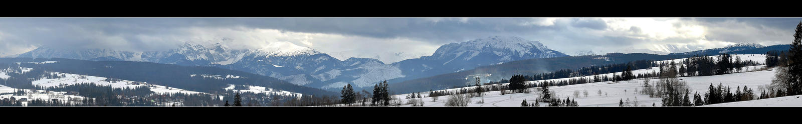 Saturday At Foot Of The Tatra Mountains - Panorama by skarzynscy