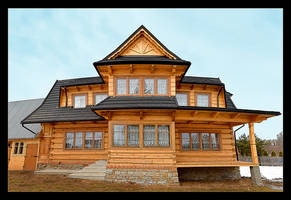 A Typical House In Polish Mountains by skarzynscy