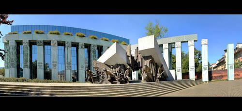 Museum Of The Warsaw Uprising - Panorama by skarzynscy