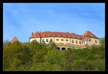 Over Cracow - Castle In Przegorzaly by skarzynscy