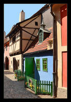 Small Cottage At The Golden Lane In Prague by skarzynscy