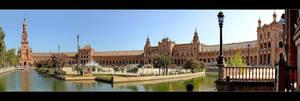 Spanish Square - Sevilla by skarzynscy