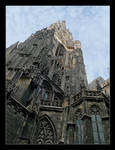 Tower Of The Cathedral Of St. Stefan In Vienna