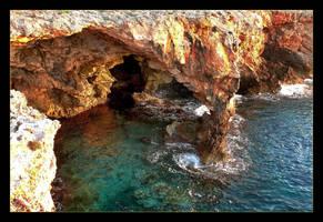 Cliffs Of Menorca by skarzynscy