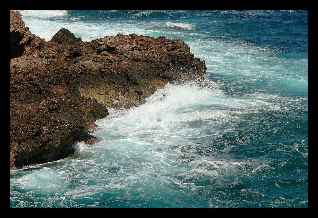 Shades Of The Blueness Of The Mediterranean by skarzynscy