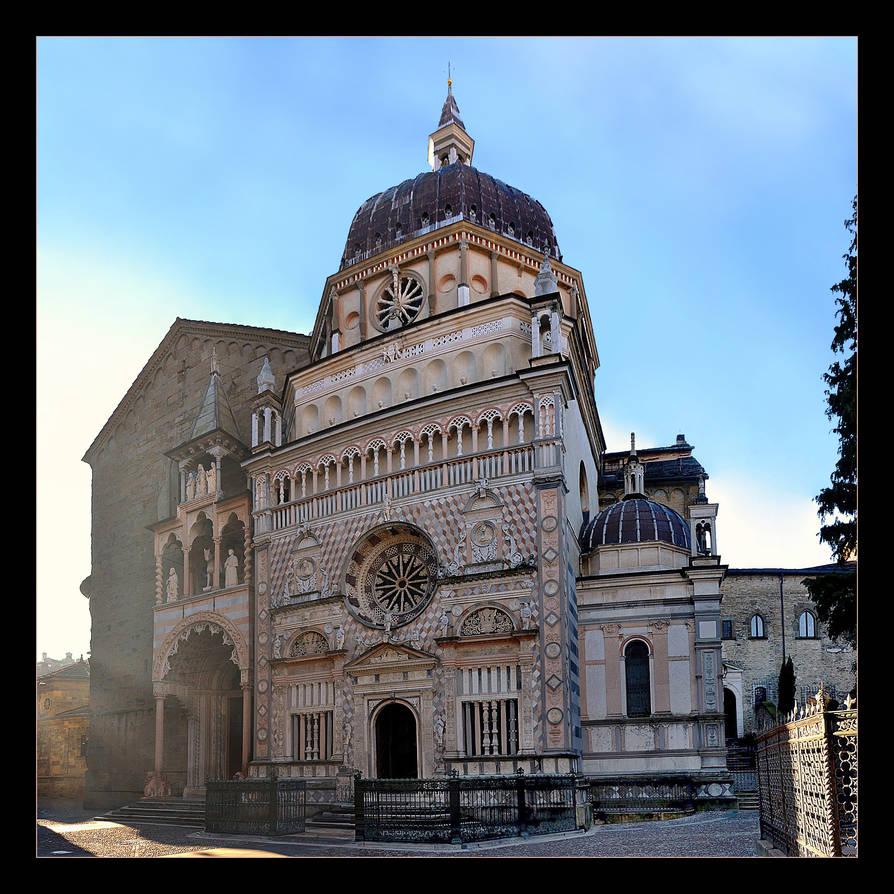 Basilica Of St. Maria Maggiore + Capella Colleoni by skarzynscy