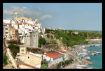 Over The Port Of Mao (Capital Of Menorca) by skarzynscy