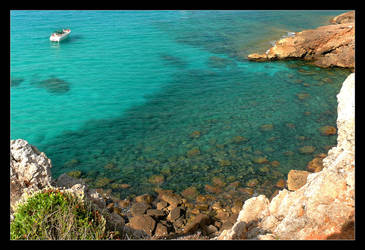I Love This Color - Emerald Water Of Mediterranean by skarzynscy
