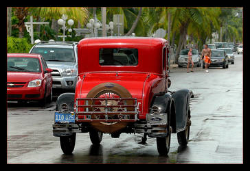 Little Red Ford by skarzynscy