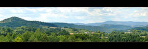 The Surroundings Of My Little Town - Panorama