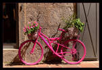 Pink Bicycle by skarzynscy