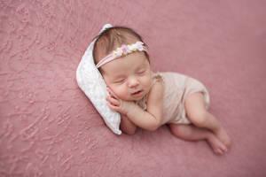 My Sleeping Treasure, My Sleeping Granddaughter...
