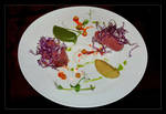 Admire Or Eat... That Is Art On The Plate by skarzynscy