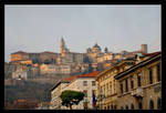 Poor Bergamo ... View Of The Old Town