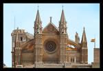 Front Of Palma Cathedral, Mallorca