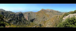 Mountains On The Island (Panorama)