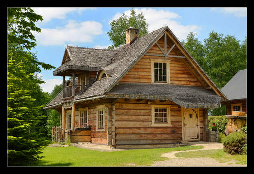 The Beauty Of Old Wooden Architecture