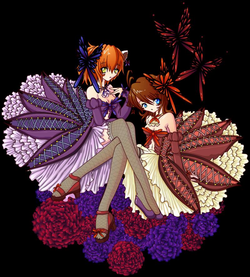 Les filles du papillon by diaboso
