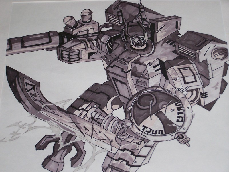 [W40K] Collection d'images : les Xenos - Page 2 War_hammer_Tau_comander_by_diaboso