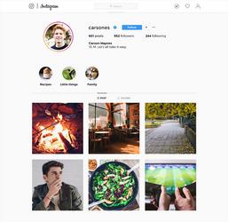 Carson - Instagram