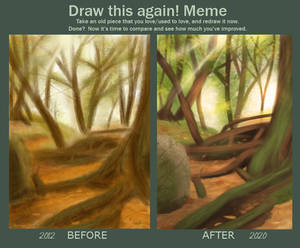 Draw this again - forest