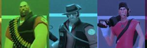 Team Fortress 2 Color Bar